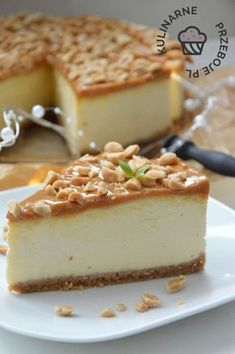 Polish Desserts, Polish Recipes, Cookie Desserts, Sweet Cakes, Sweets Recipes, Cheesecake Recipes, The Best, Food And Drink, Yummy Food