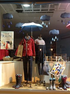 Rain cloud window, February 2014 by Seasalt's window team.