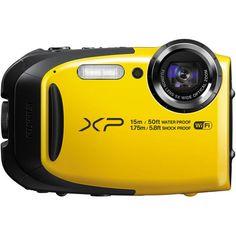 Fujifilm FinePix XP80 Digital Camera 1080p (yellow/blue/black) -Fujifilm- Capture Your Action - 1
