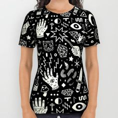 Witchcraft All Over Print Shirt by LordofMasks #PrintedGift