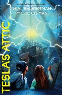 Reading For Sanity : A Book Review Blog: Tesla's Attic - Neal Shusterman and Eric Elfman