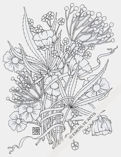 Cynthia Emerlye, Vermont artist and life coach: In Honor of 4-20... an adult coloring page