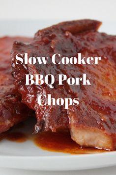 Slow Cooker BBQ Pork Chops — Frugal Texas Diva