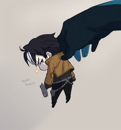 Chibi Jasonwith a Dick's hand
