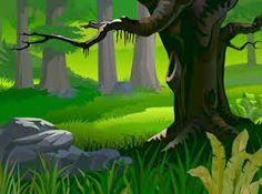 Image result for vector jungle bg