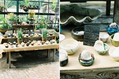 pottery as wedding favors