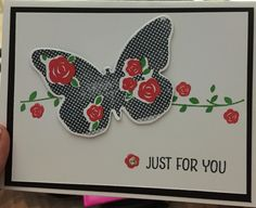 Butterfly Card - Deb Furnans - Stampin' Up