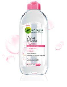 Aguas Micelares para pieles sensibles - Agua Micelar - Garnier