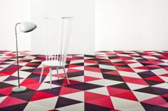 #bolonstudio #designerflooring #triangles