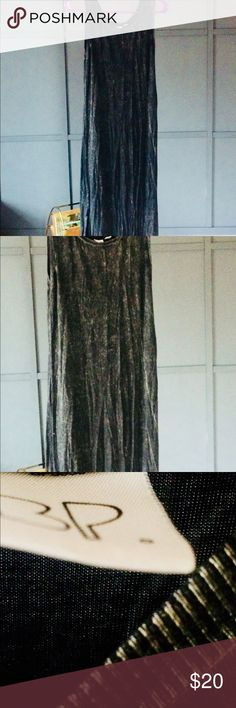 Nordstrom acid wash maxi dress  S great condition Nordstrom by BP black acid wash maxi dress, single slit on side of dress, slit doesn't go too high, runs true to size, size s, great condition Nordstrom Dresses Maxi