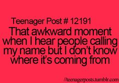That awkward moment when you realize you're an adult and can't relate to these posts anymore.