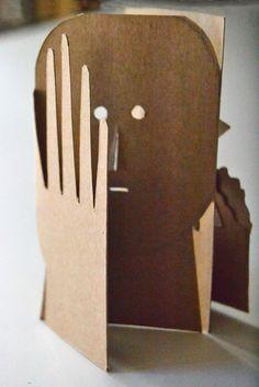 milimbo: Layered paper fold out art #papercrafts