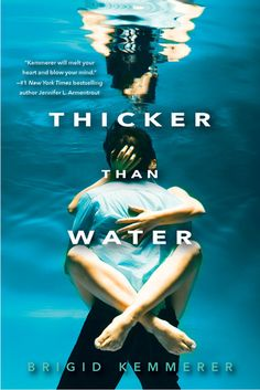 Thicker Than Water - Brigid Kemmerer - Kensington Books - ♥♥♥♥ - Young adult fiction, mystery, paranormal.
