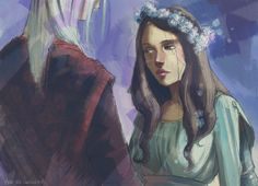 Fanart of A Game of Thrones. To the show watchers out there, welcome to the series! Rhaegar Targaryen and Lyanna Stark running off from Harrenhal, as a . Ice and Fire Game Of Thrones Theories, Hbo Game Of Thrones, Ned Stark, Rhaegar Y Lyanna, Jon Snow, Indigo Eyes, The Winds Of Winter, Different Colored Eyes, Daenerys Targaryen