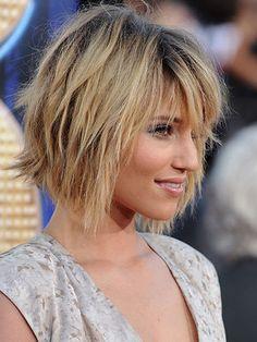dianna agron short hair | ... /FilmMagic Dianna Agron: Short, choppy hair - Jon Kopaloff/FilmMagic