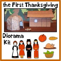 the First Thanksgiving Diorama Kit