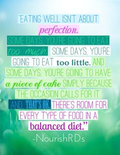 new mantra.  BALANCE. everything in moderation.  no wacky overzealous nonsense here.