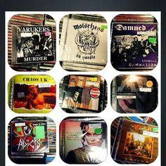 New cd's in stock.