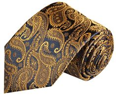 Paul Malone Extra Long Necktie 100% Silk Brown Paisley  http://www.yourneckties.com/paul-malone-extra-long-necktie-100-silk-brown-paisley-2/