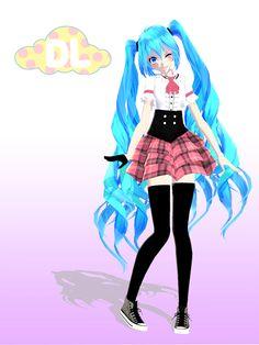 TDA Miss Music -Miku- DL by KhrisMx on DeviantArt