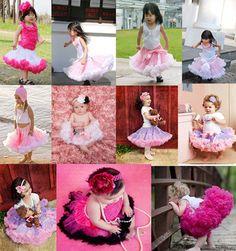 Baby Girls KIDS Tutu Ballet Dance Skirt PettiSkirt Tutus Top SKirt 2-10Year