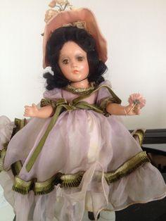 "Vintage 11"" Madame Alexander composition Scarlett O'Hara Southern Girl *Rare*"