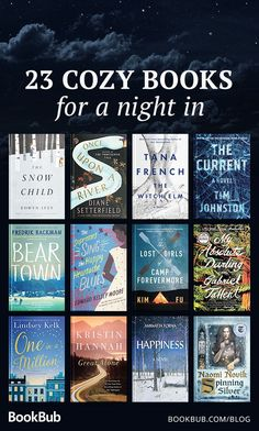 23 Books to Read for a Cozy Night In 23 Books to Read for a Cozy Night In Books that pair perfectly with a warm blanket and a cup of tea. to for a Cozy Night In<br> Books that pair perfectly with a warm blanket and a cup of tea. Best Books To Read, I Love Books, Great Books, My Books, Fall Books, Good Books To Read, Books That Are Movies, Book List Must Read, Books To Read Before You Die