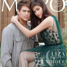 Liza Soberano and Enrique Gil Enrique Gil, Liza Soberano, Hollywood Actresses, Actors & Actresses, Filipino Models, Young Actors, Couples In Love, Girl Face, Celebrity Couples