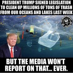 Lying leftwing media won't report it because they are in bed with the evil dumobrats, and any good report about President Trump would fly in the face of their scams and schemes. What a bunch of evil rodents! Way Of Life, The Life, Donald Trump, Trump Is My President, Liberal Logic, Liberal Left, Media Bias, Trump Sign, Political Quotes