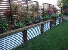 Cheap Privacy Fence, Privacy Fence Designs, Backyard Privacy, Small Backyard Landscaping, Backyard Fences, Landscaping Ideas, Backyard Ideas, Privacy Screens, Mulch Landscaping
