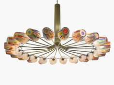 Candy Chandelier by Campana Brothers for Lasvit