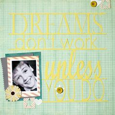 """Ideas for ''subway art"""" looks on scrapbook pages. New Year Holidays, Holidays And Events, Scrapbook Titles, Scrapbooking, Amanda Jones, Apple Roses, Company Picnic, Hannukah, Simple Stories"""