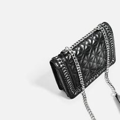 338147ccc5f8d Image 7 of QUILTED LEATHER CROSSBODY BAG from Zara. Martsu · Asusteet ja  muut · MICHAEL Michael Kors ...