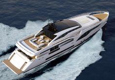 Невероятные прототипы яхт от компании Wider