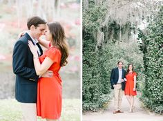 Katie + Will Spring Middleton Engagement photos in March by Charleston wedding photographers Aaron and Jillian Photography -_0025