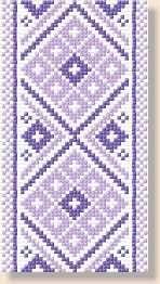 Tablecloths, free cross stitch patterns and charts - www.free-cross-stitch.rucniprace.cz