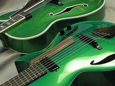 Semi acoustic guitars graebryan