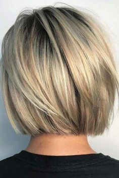 Inverted Bob Hairstyles for Fine Hair That Make You Look Younger - Page 2 of 28 . Inverted Bob Hairstyles for Fi. Bob Style Haircuts, Inverted Bob Hairstyles, Blonde Bob Hairstyles, Hairstyles Haircuts, Straight Hairstyles, Trendy Hairstyles, Layered Hairstyles, Creative Hairstyles, Haircut Bob