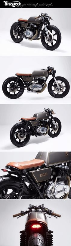 Yamaha XS500:: Relic Motorcycles.| 8negro                                                                                                                                                                                 More