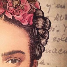 Image about love in Frida Kahlo by susie ♡ on We Heart It Diego Rivera, Pop Art, Kahlo Paintings, Frida And Diego, Frida Art, Art Et Illustration, Arte Popular, Mexican Art, Zentangle