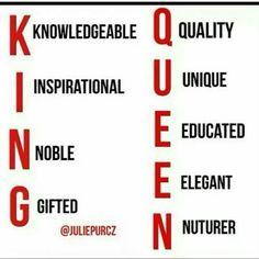 Black King & Black Queen