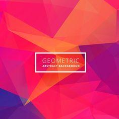 Fondo abstracto de color brillante Vector Gratis