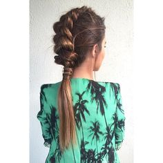InStyle Real Time Fashion ❤ liked on Polyvore featuring hair