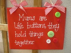 hand+painted+wooden+stocking | Primitive wooden hand painted and decorated plaque sign in reds MUM ...