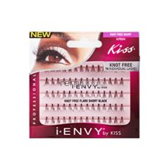 iEnvy Individual Knot Free KPE04 Short - Color Black - Individual Natural Style Eyelashes