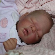 Reborn Baby Girl Doll Erin/Adrie Stoete Ross a Polly's Perfect Baby