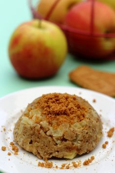 Bowlcake pomme/spéculoos à 6SP Weight Watchers