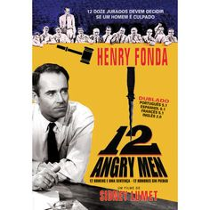 12 angry men Henry Fonda, Lights Camera Action, Classic Films, Cinema, 1, Books, Movies, Movie Posters, Spanish