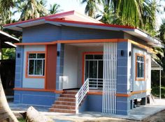 Fit For Your Budget: Single Storey House - House And Decors - House Plans, Home Plan Designs, Floor Plans and Blueprints Cheap House Plans, Cheap Tiny House, Simple House Plans, Cheap Houses, Modern House Plans, Small House Layout, Modern Small House Design, Simple House Design, Tiny House Design