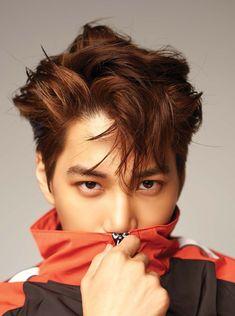 EXO Kai for Lined Magazine, 'Stage' Digital Version Baekhyun Chanyeol, Exo Kai, K Pop, Pop Bands, Taemin, Rapper, Luhan And Kris, Kim Jong Dae, Kim Minseok